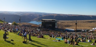 The amazing view from up on the hill